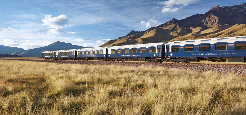 Belmond lanza Belmond Las Casitas y el primer tren nocturno de lujo de América del Sur, Belmond Andean Explorer