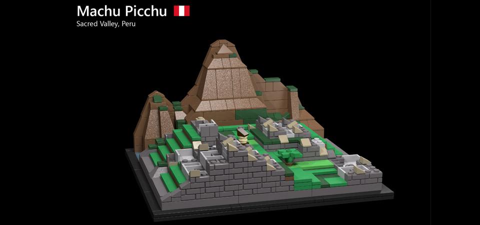 Vota por Machu Picchu para que tenga su set de piezas de Lego