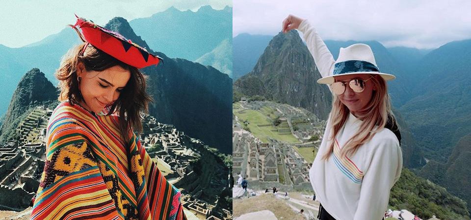 Yuya y Sarah Michelle Gellar maravilladas con Machu Picchu
