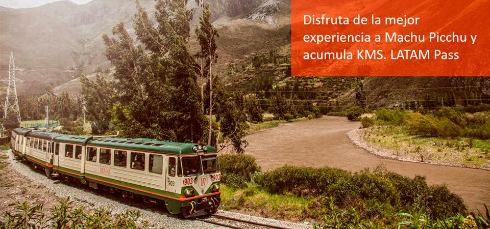 Inca Rail y Latam se unen para ofrecer kms a los turistas
