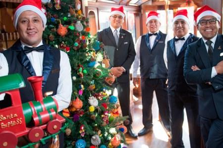 Belmond celebra la Navidad en el Belmond Andean Explorer y el Belmond Hiram Binghan
