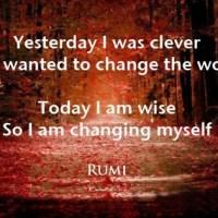 Rumi and Change