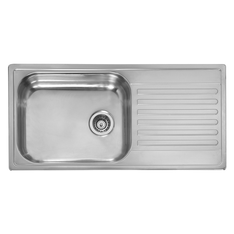 the m10 extra deep bowl sink reversible drainer
