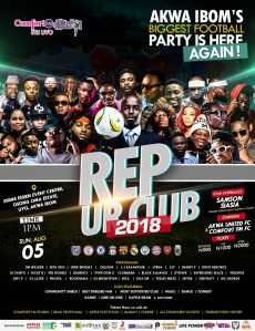 Samson Siasia, Ikpa Udo, Unik Brodaz, Akwa United Players To Headline Comfort 95.1 FM's  REP UR CLUB 2018