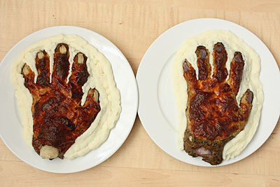 The hand meat - version No.3, the results!
