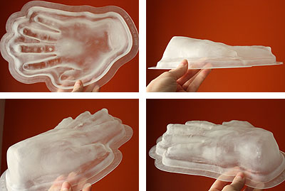 The hand meat hand mold!
