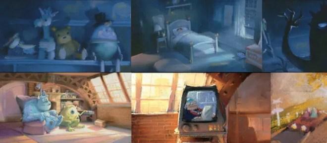 el arte de pixar libro