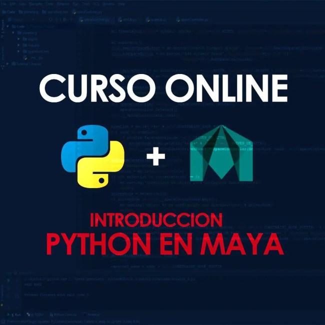 curso online de python para maya