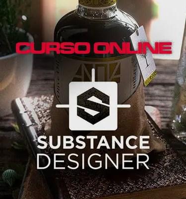 curso online de substance designer en español