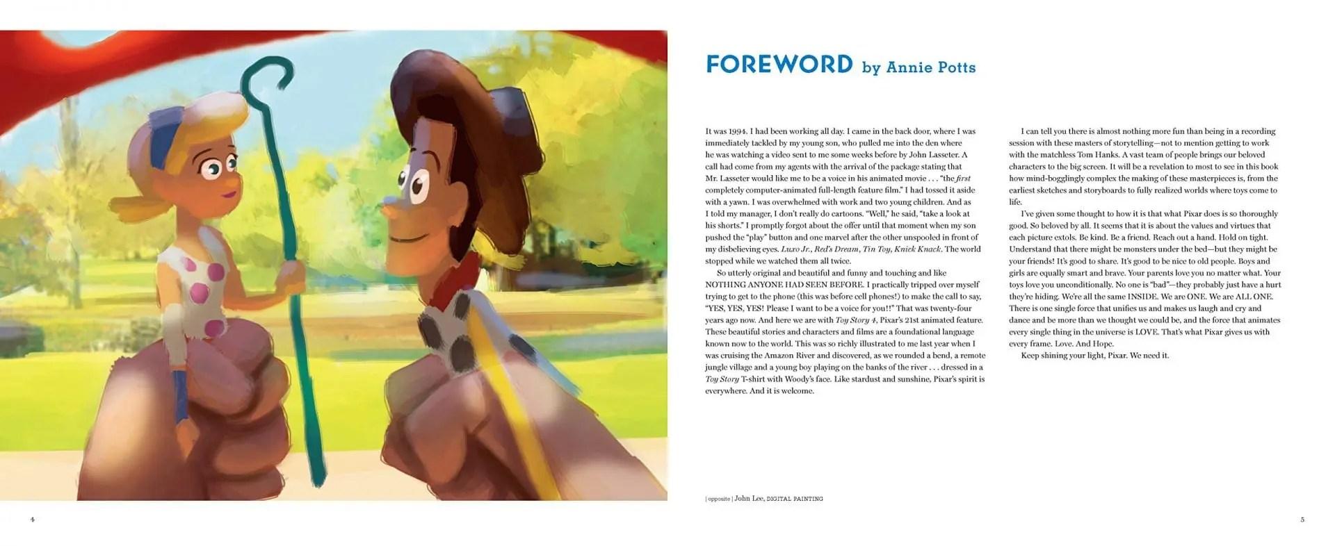 Libro de Arte Toy Story
