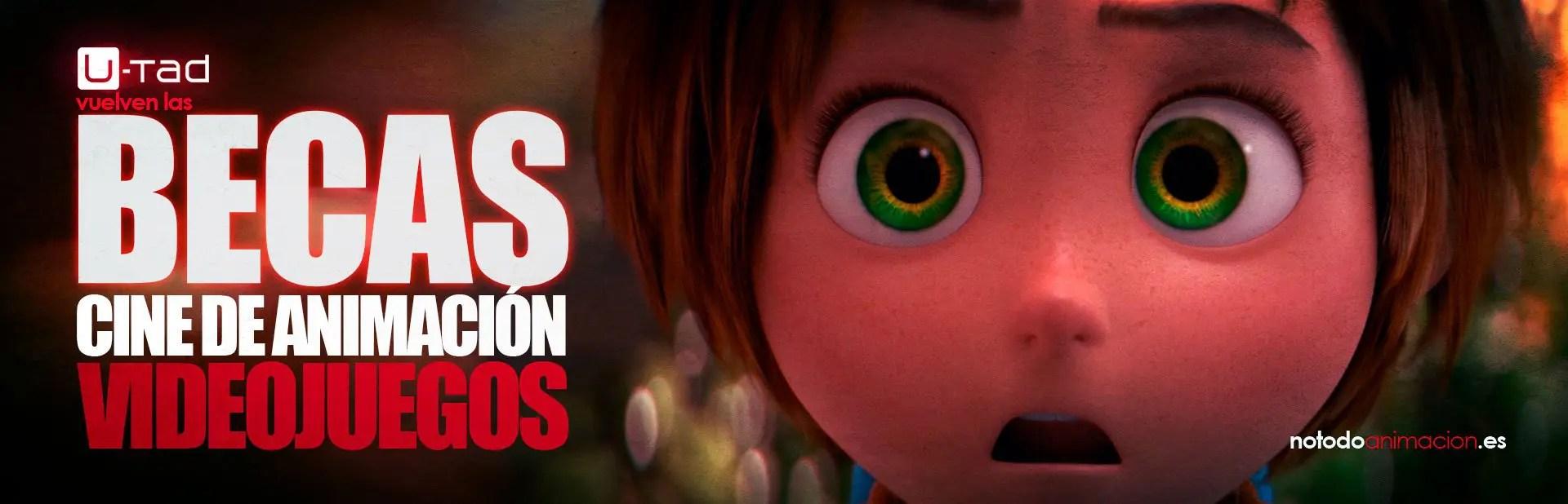 becas animacion videojuegos vfx