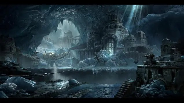 The Art of Shadow of the Tomb Raider concept art