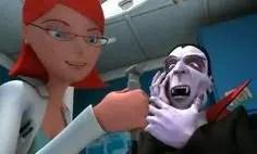 Photo of Cortometraje de Animación 3d. El Vampiro y La Dentista