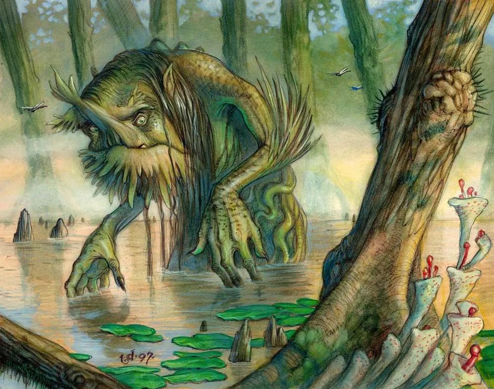 Ilustraciones-Ilustrador-Arte-Tony Di Terlizzi-Ilustrraciones Digitales-Ilustraciión tradicional