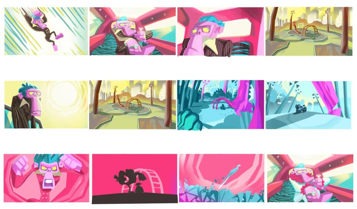 cortometraje de animación shave it