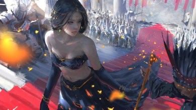 Photo of 20 Tutoriales de Concept Art: Painting Process de Wang Ling WLOP