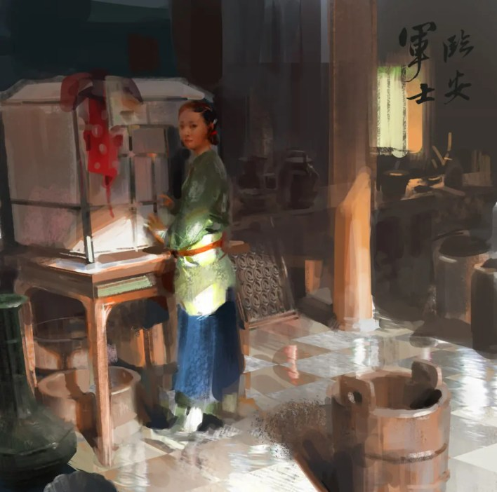 shuai zhang illustration concept art