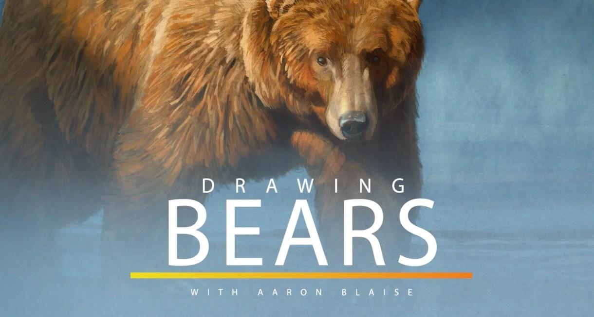 Tutorial como dibujar osos - Aaron Blaise