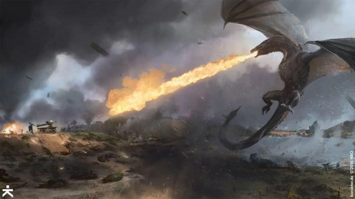 game of thrones concept art illustration
