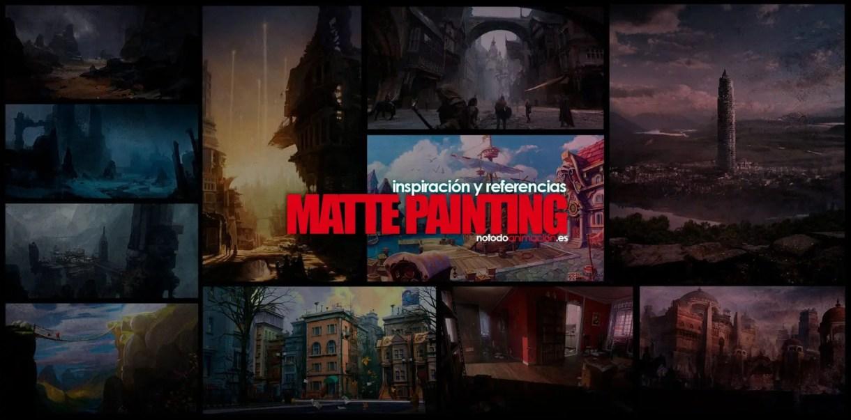 Inspiración y Referencias - Mas de 1.000 Diseños de Escenarios y Matte Painting