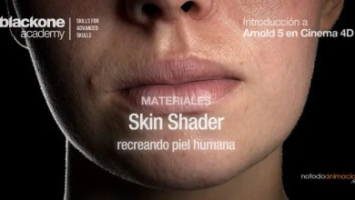 Tutorial 3D crear Piel Humana Realista Arnold