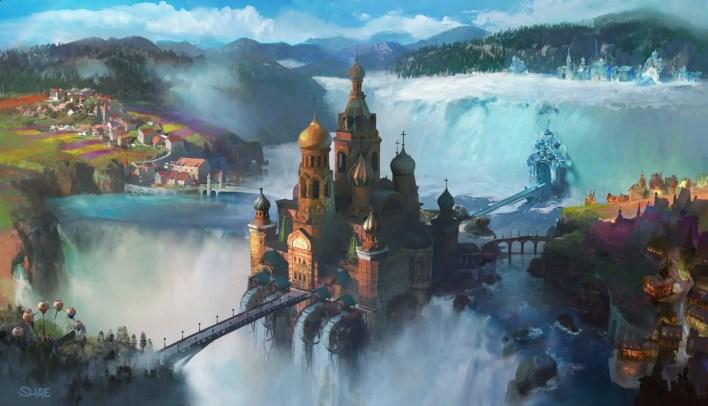 el cascanueces y los 4 reinos