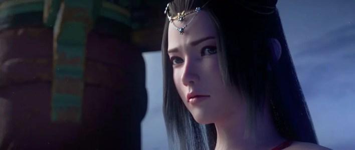 Cinemática de Animación 3d: Moonlight Blade