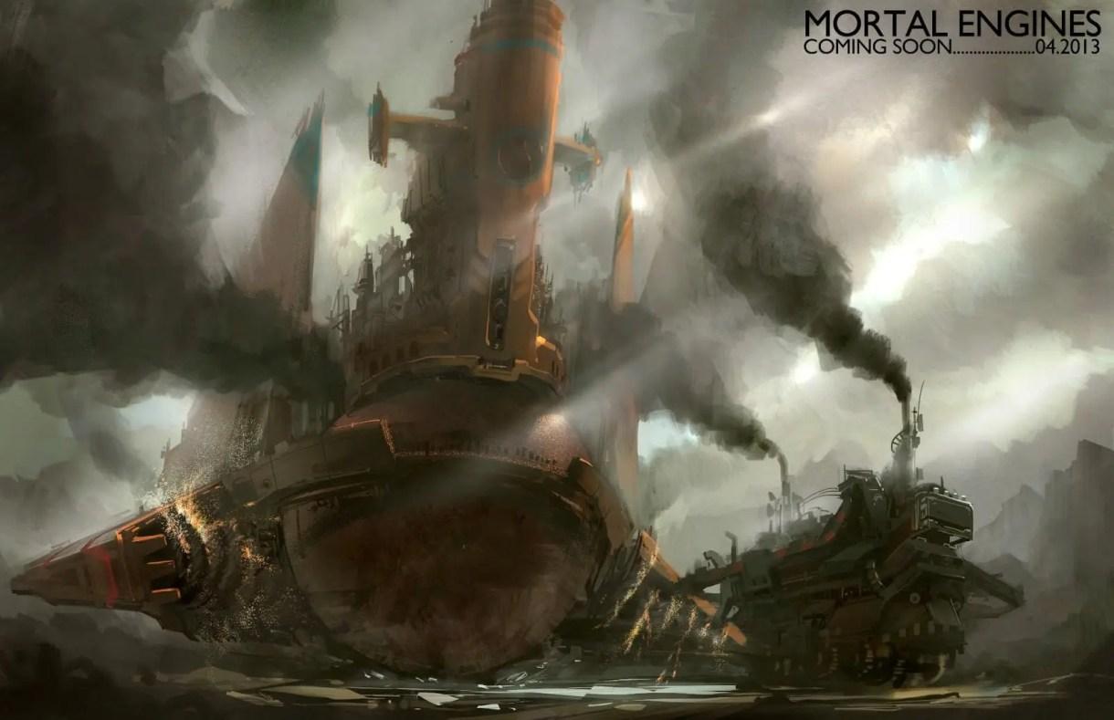 Mortal Engines-Películas-Cine-CGI-VFX