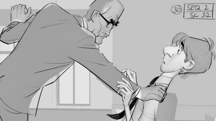 El Arte de Paperman - Making of, Storyboard, Diseño de Personajes & Concept Art