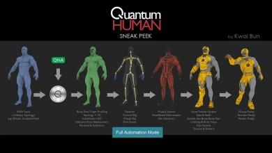 Photo of Quantum Human – Rigg & Retopo automáticos con un solo Clic