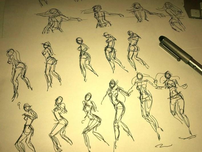 Sketches & Ilustración El Arte de Pedro Daniel