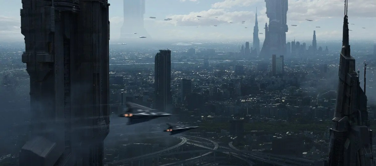 Anthony Eftekhari - Matte Painting
