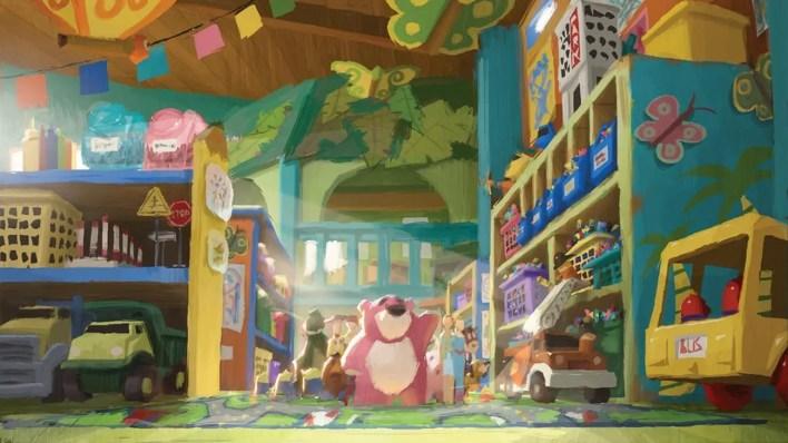 El Arte de Toy Story 3 Disney - Concept Art, Diseño de Personajes y Making of