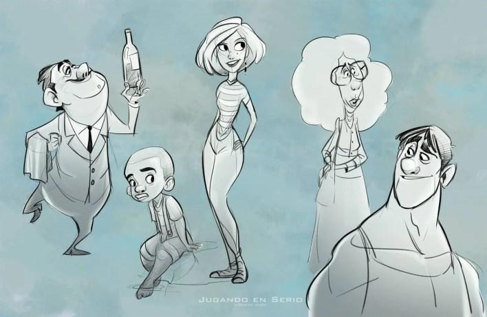El arte de Luis Manuel Villarreal - Diseño de Personajes y Tutoriales