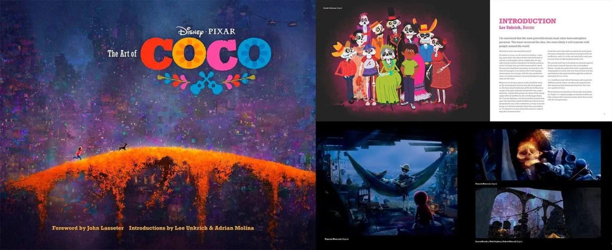 El arte de Coco LIBRO: Desarrollo Visual y libro de Art Of Coco (Película de Disney) Diseño de Personajes, Concept Art y Making of