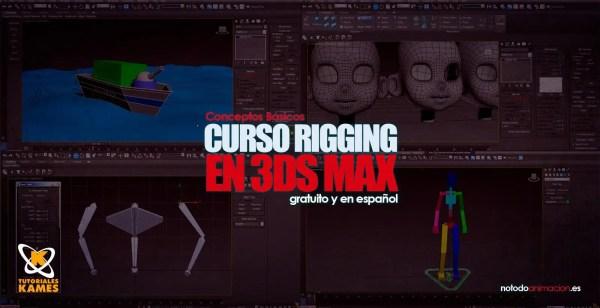 Curso de Rigging en 3ds Max - Tutoriales Conceptos Básicos: online, gratis y en Español