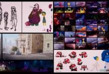 El arte de Inside Out (Película de Disney-Pixar): Todo el Desarrollo Visual y libro de Art Of Inside Out - Color Script , Storytelling y Concept Art