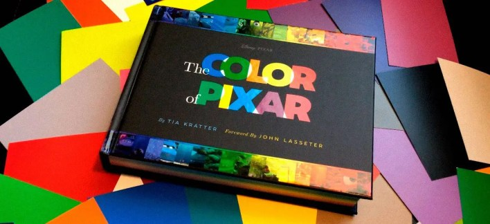 Desarrollo Visual: El Arte de Pixar Inside Out - Color Script  y Concept Art LIBRO THE COLOR OF PIXAR