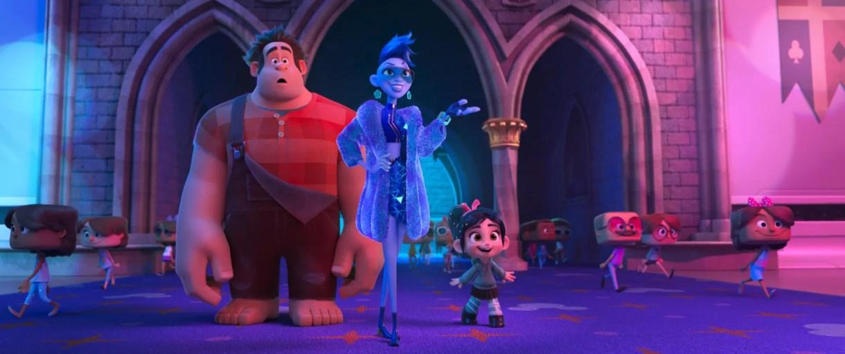 películas de Animación 2018 (Disney - Pixar) - Ralph rompe Internet