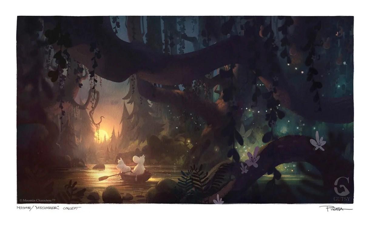 Series de Animación: Moomingvalley