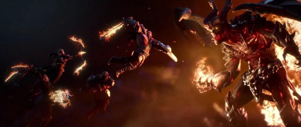 Trailer-Cinemática-Videojuego-Vikings Go To Hell