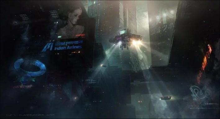 Victor Martinez-concep art-ilustración-Blade Runner 2049