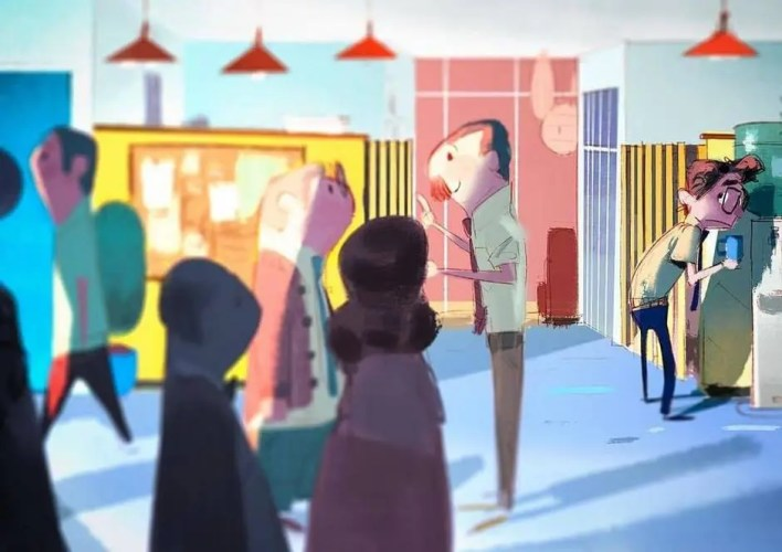 Inner workings cortometraje completo Desarrollo visual, diseño de personajes & concept art