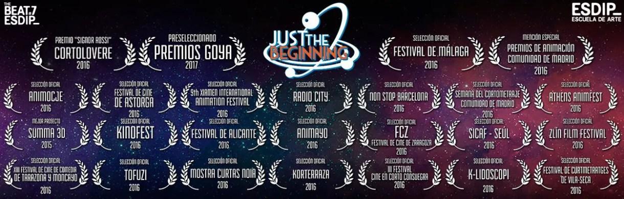 Just The Beginning - Cortometraje de Animación JTB_cristal-retake_01_web_logo