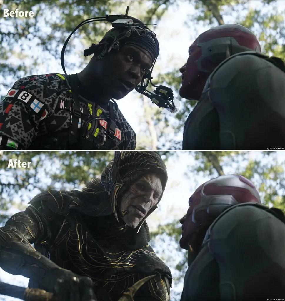 Avengers Infinity War Making of VFX