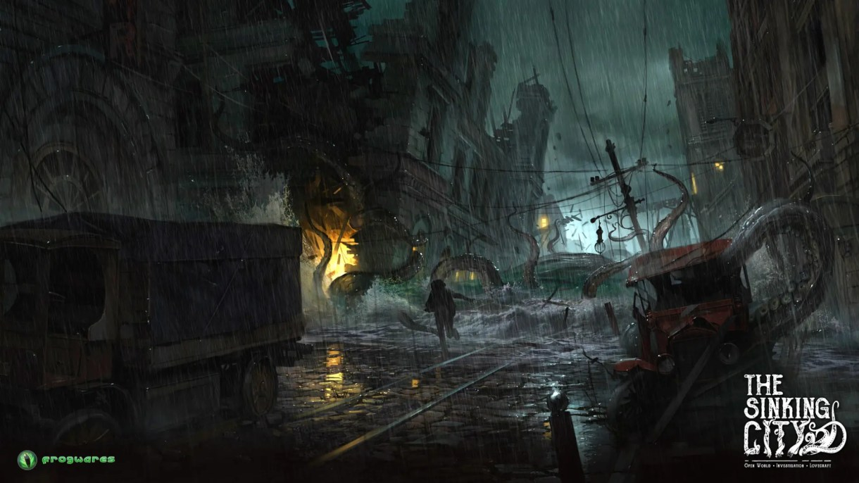 Cinemática-videojuego-The Sinking City