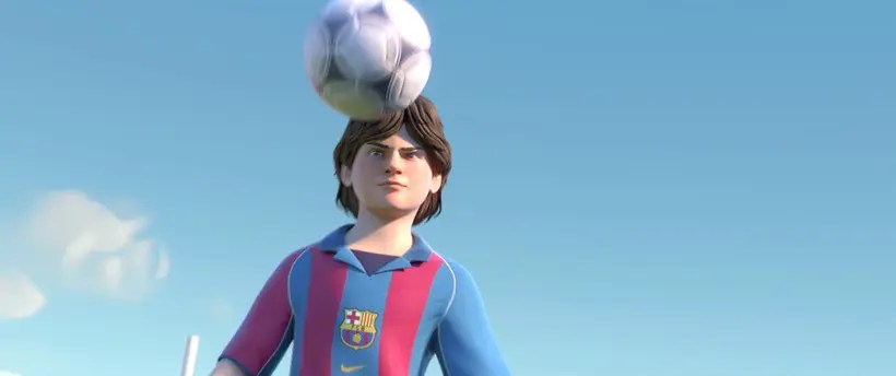 cortometraje branded contentrth of a lio messi