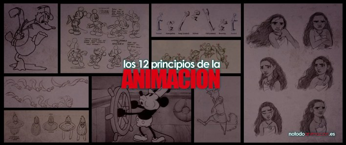 los 12 principios de la animacion