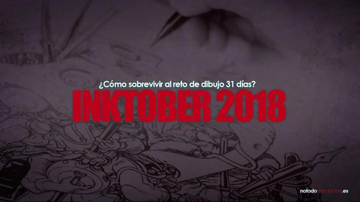 Inktober 2018 español