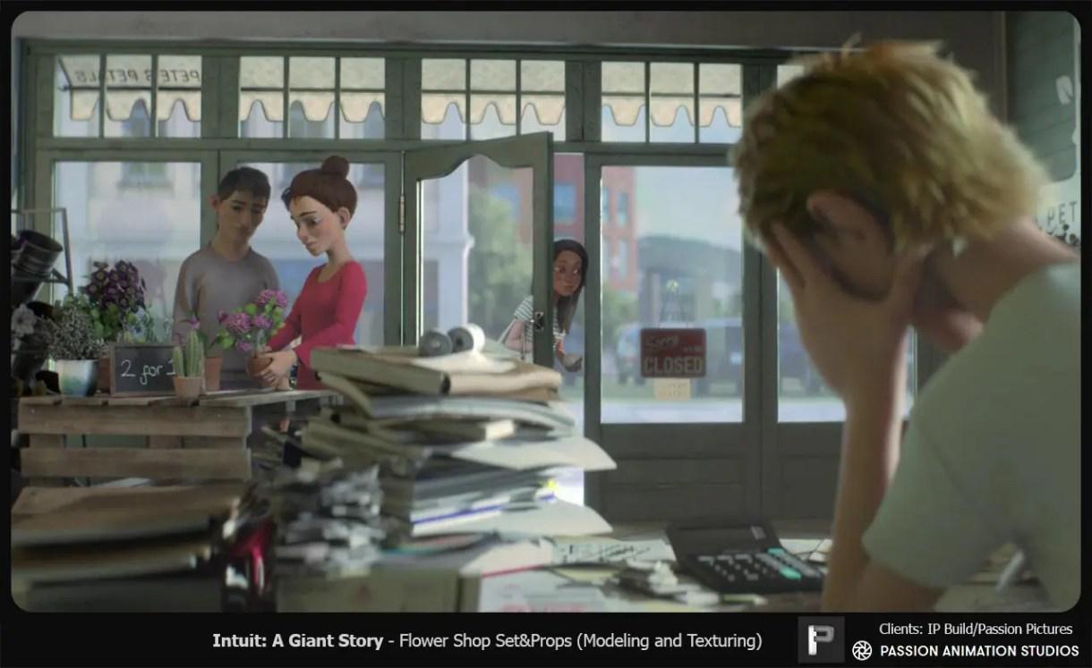 Intuit, A Giant Story | Spot de Animación y Desarrollo Visual